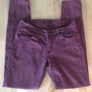 James Jean Twiggy jeans, color wine